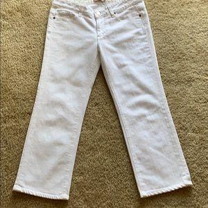 Paige denim crop jeans